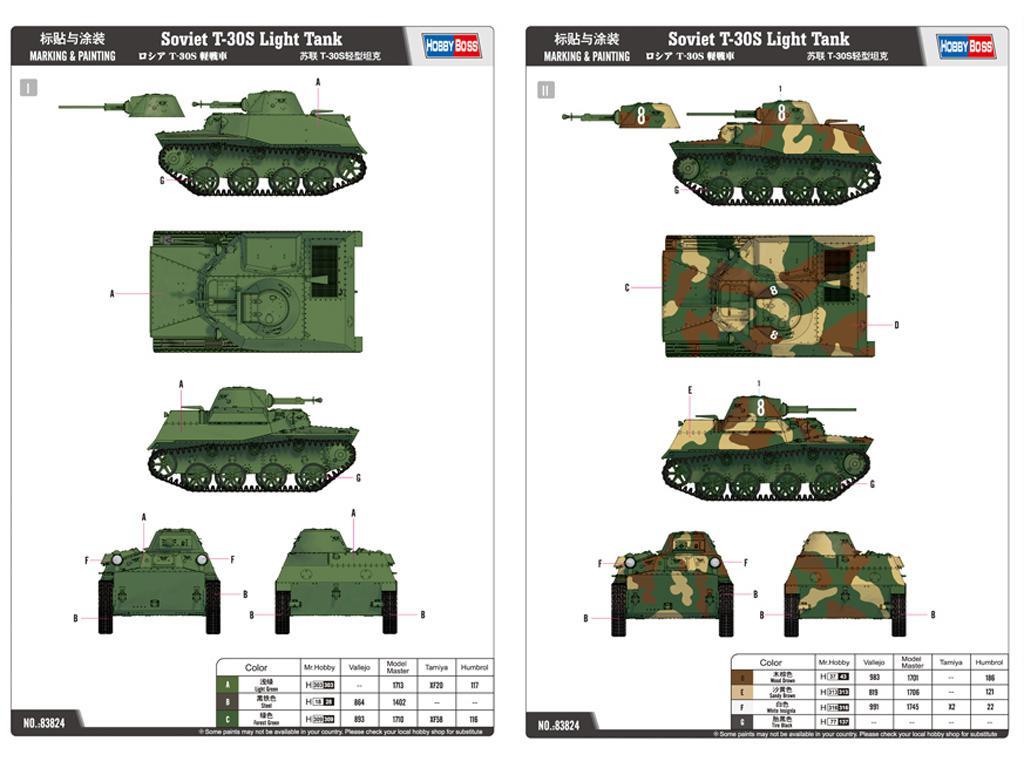 Russian T-30S Light Tank (Vista 2)