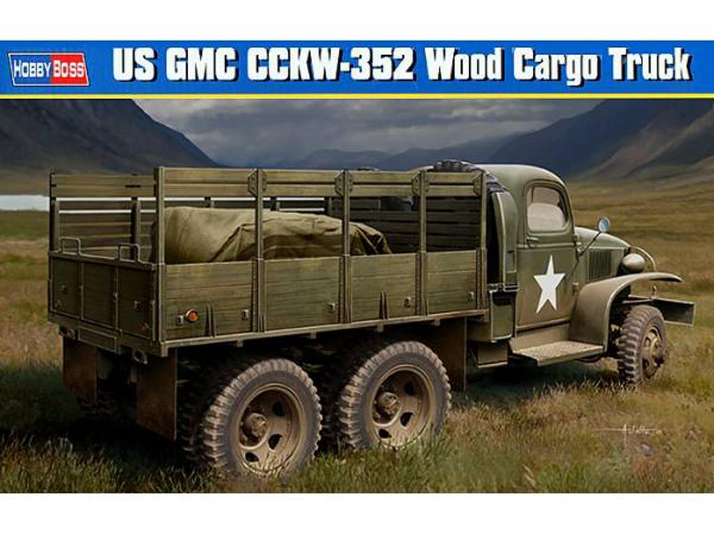 Camión de carga USA GMC CCKW-352 (Vista 1)