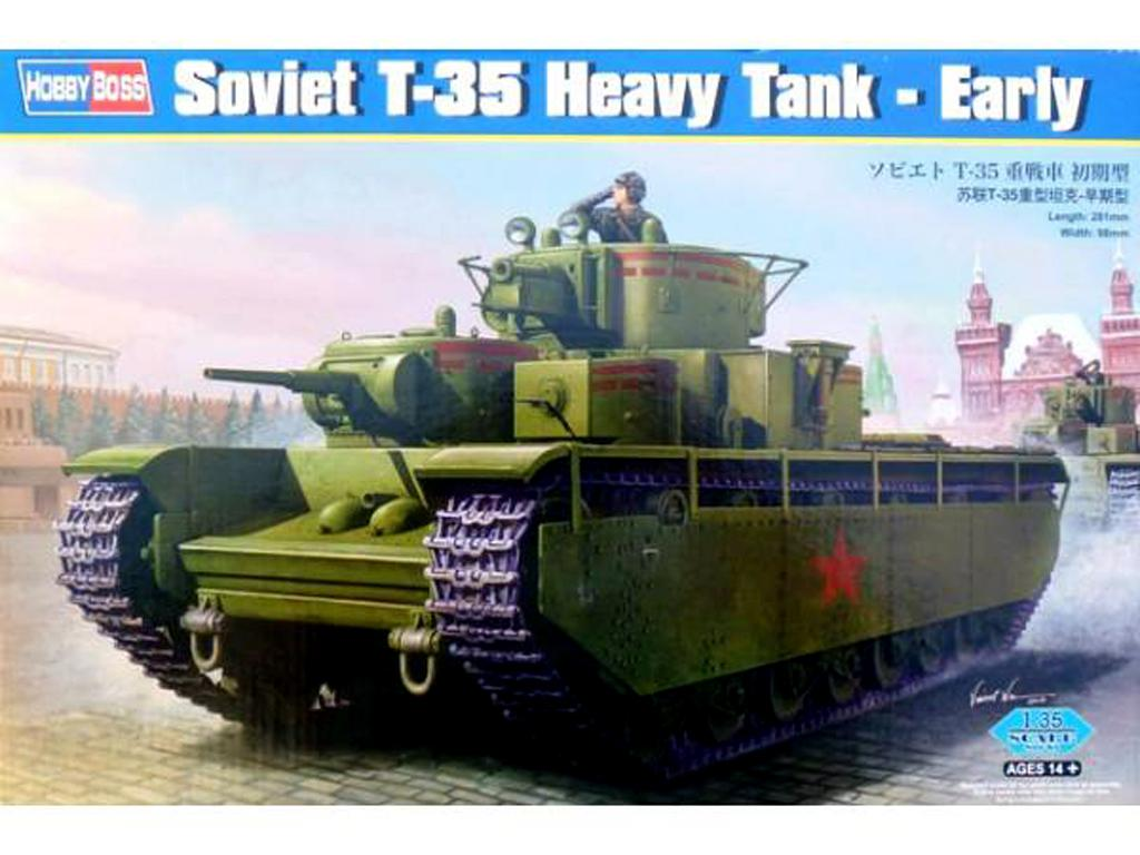 Tanque Pesado Soviético T-35 inicial (Vista 1)