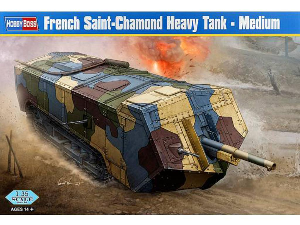 French Saint-Chamond Heavy Tank - Medium (Vista 1)
