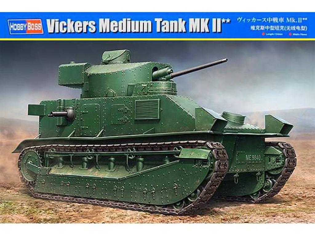 Vickers Medium Tank MK II (Vista 1)