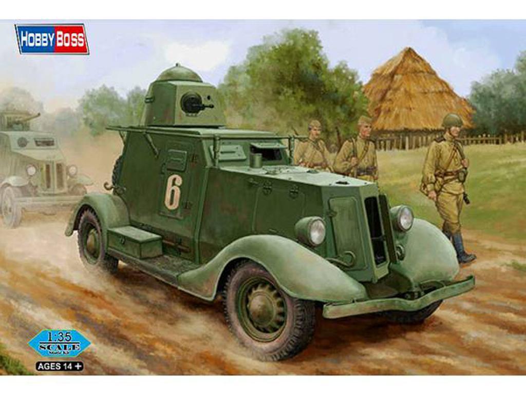Soviet BA-20 Armored Car Mod.1937  (Vista 1)