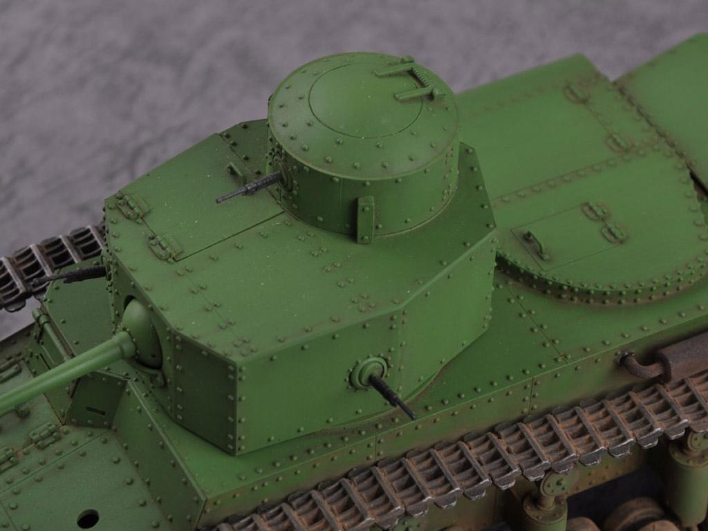 Carro medio ruso T-12 (Vista 2)