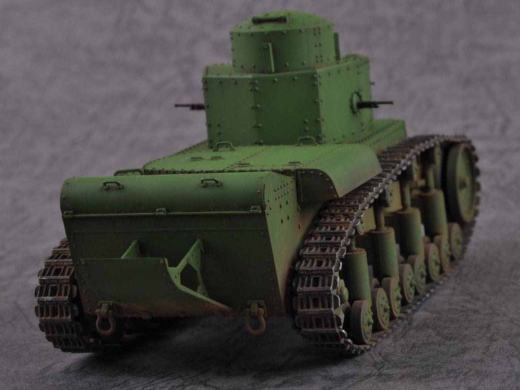 Carro medio ruso T-12 (Vista 4)