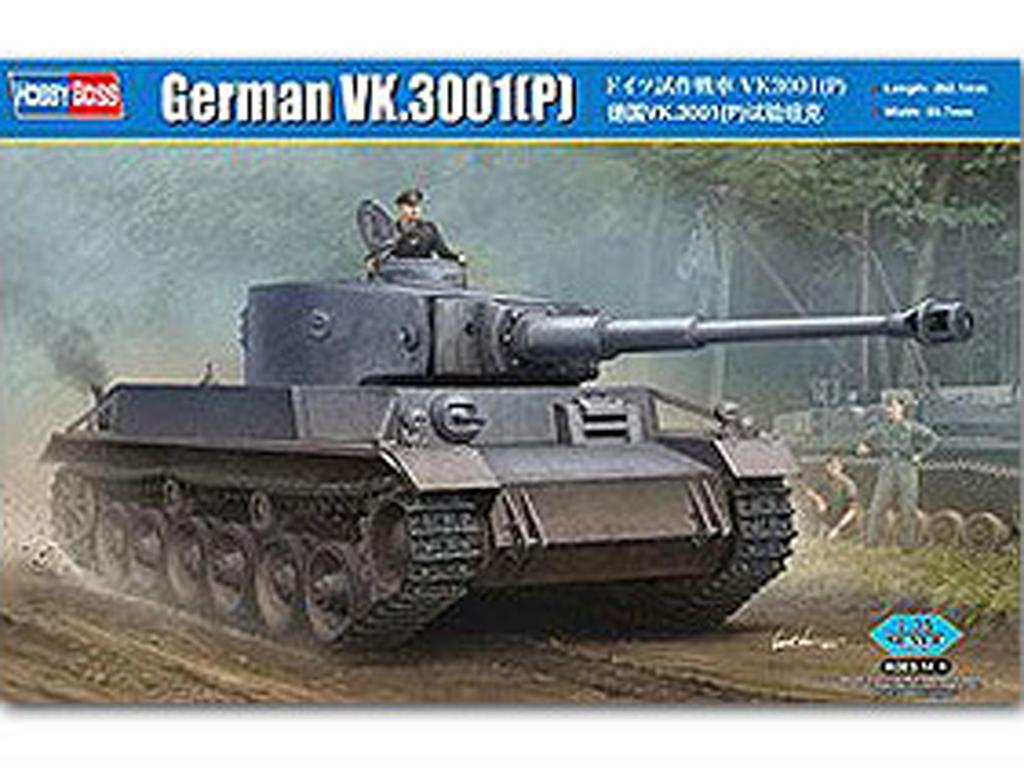 Tanque Alemán VK.3001 (P) (Vista 1)