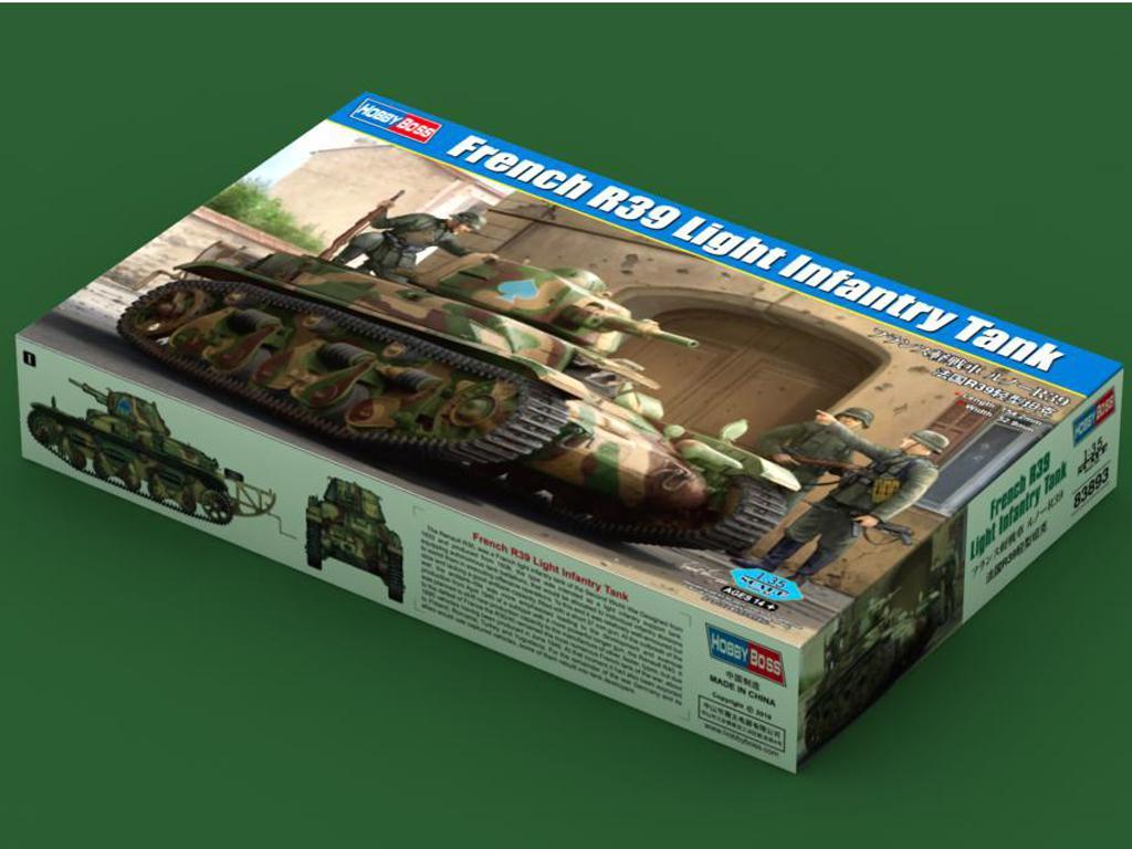 Tanque de infantería ligera francés R39 (Vista 1)