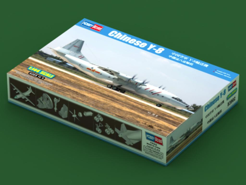 Chinese Y-8 (Vista 1)