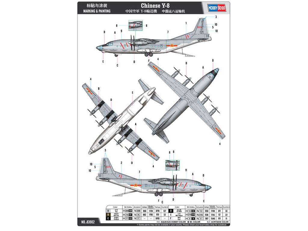Chinese Y-8 (Vista 2)
