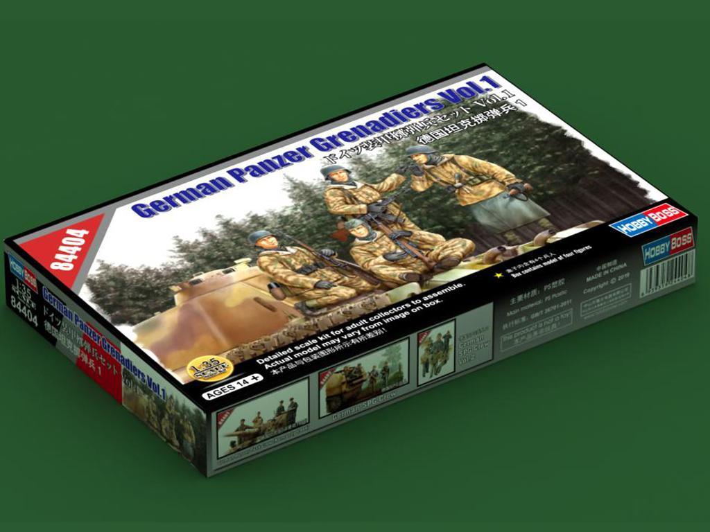 German Panzer Grenadiers Vol.1  (Vista 1)