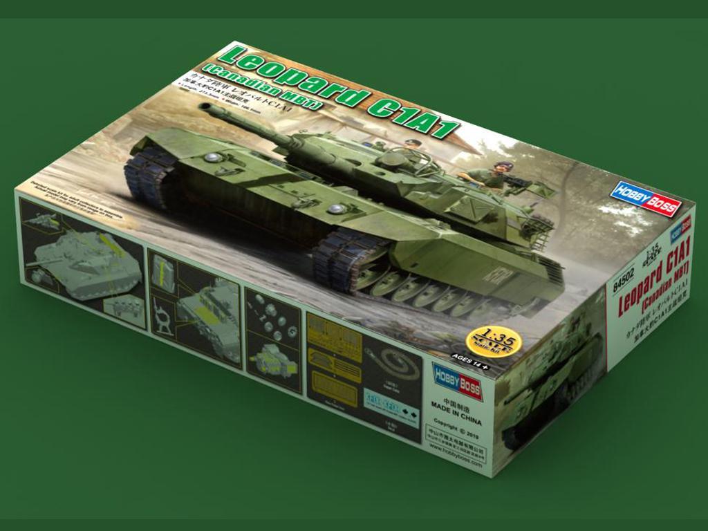 Leopard C1A1 Canadian MBT (Vista 1)