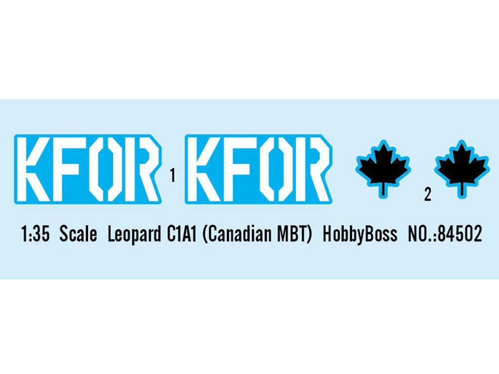 Leopard C1A1 Canadian MBT (Vista 3)