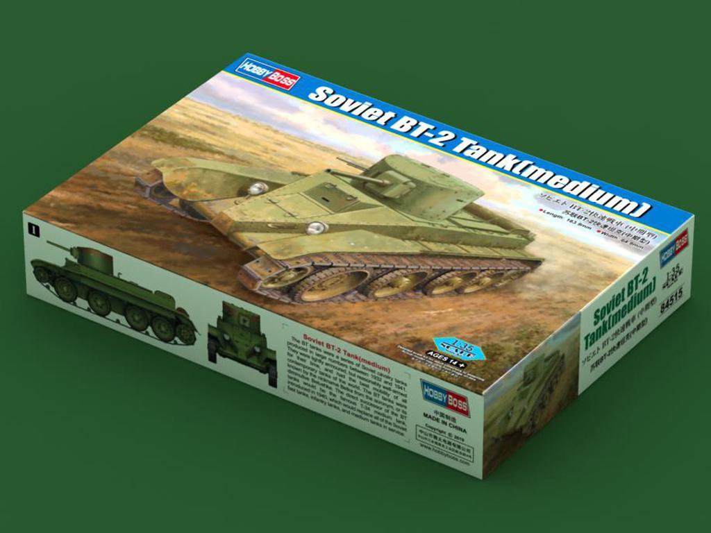 Tanque soviético BT-2 (Vista 1)