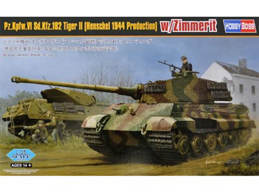 Pz.Kpfw.VI Sd.Kfz.182 Tiger II (Vista 1)