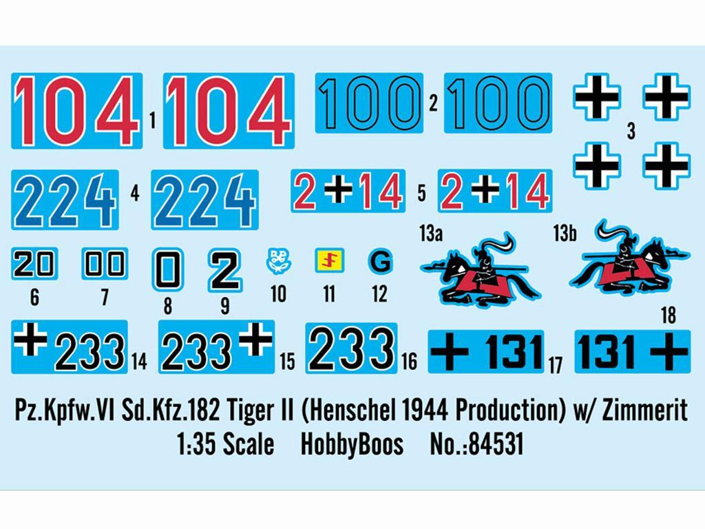 Pz.Kpfw.VI Sd.Kfz.182 Tiger II (Vista 3)
