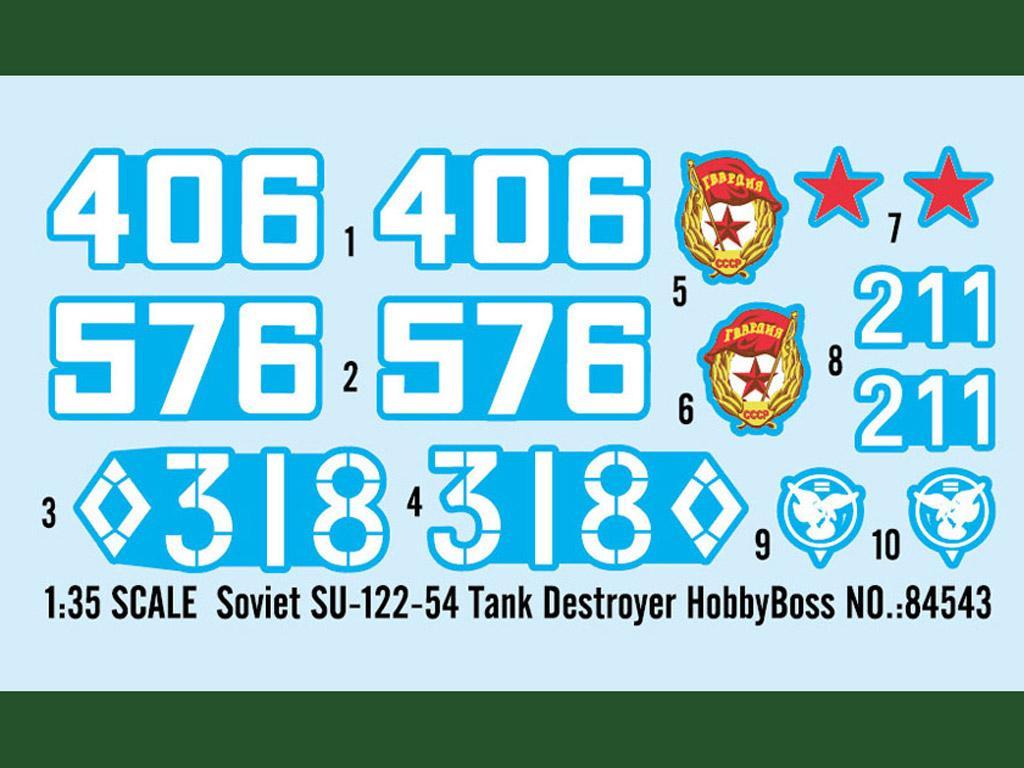 Soviet SU-122-54 Tank Destroyer (Vista 3)