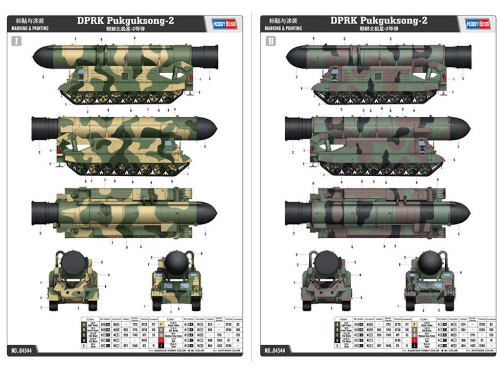 DPRK Pukguksong-2 (Vista 2)