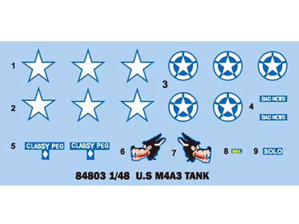 U.S M4A3 Medium Tank (Vista 3)