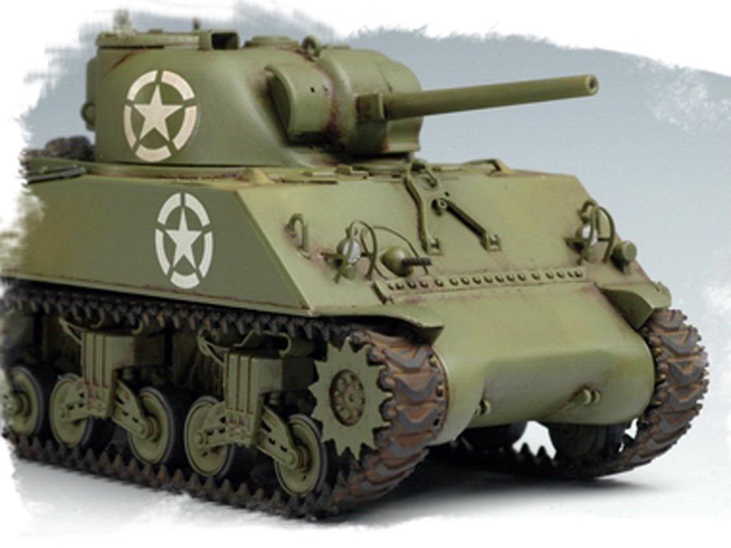 U.S M4A3 Medium Tank (Vista 8)
