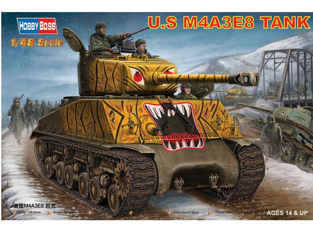 U.S M4A3E8 Tank (Vista 1)