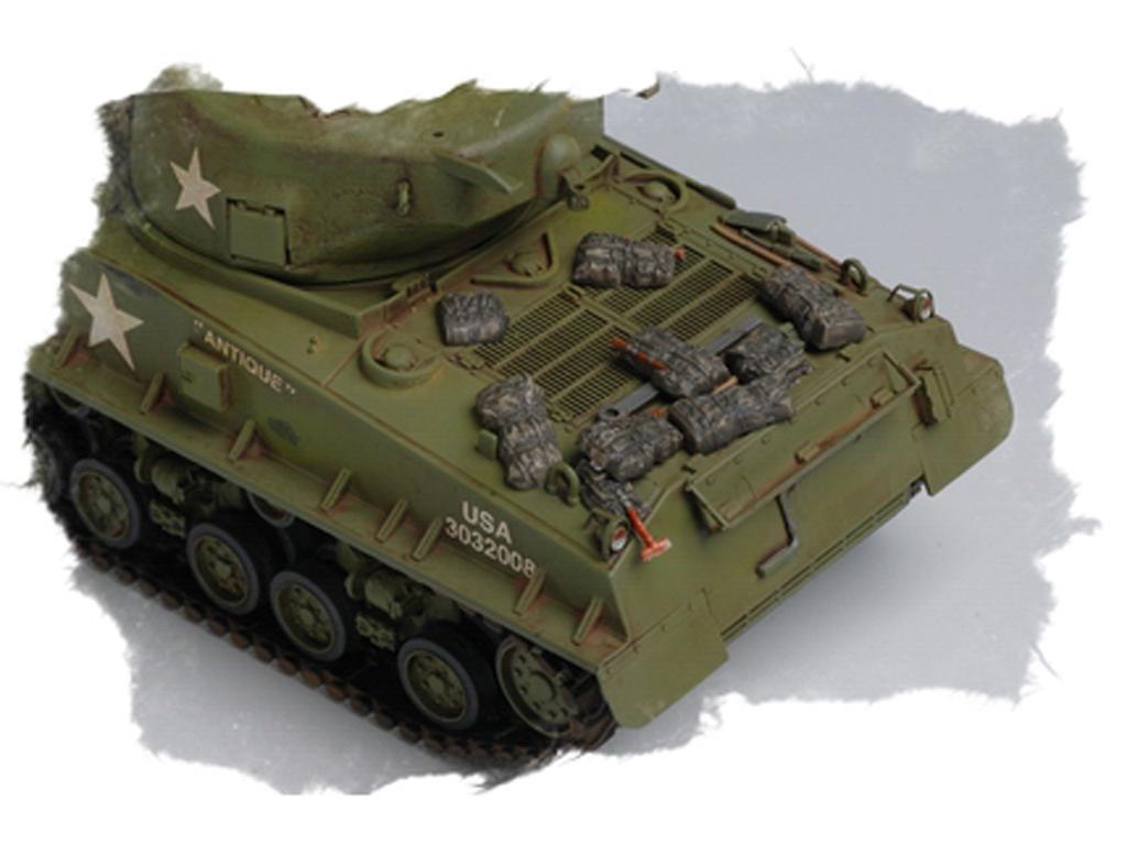 U.S M4A3E8 Tank (Vista 2)