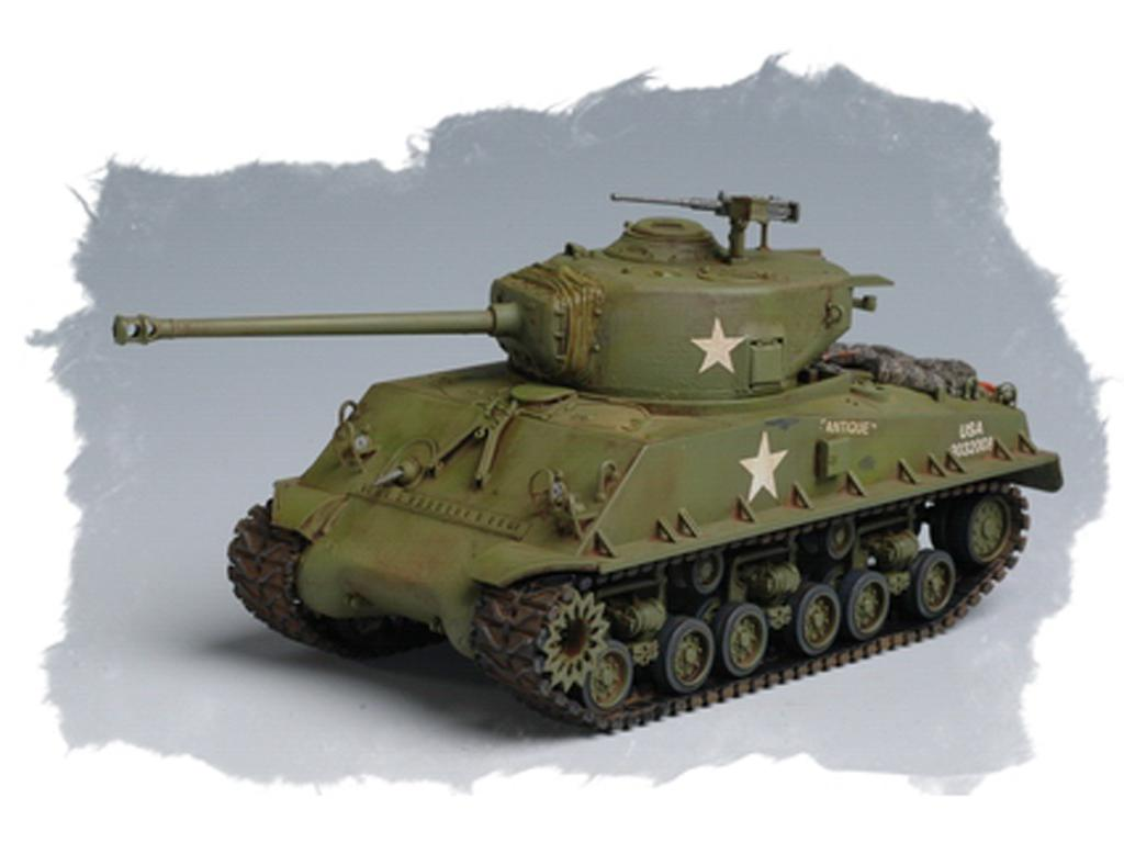 U.S M4A3E8 Tank (Vista 4)