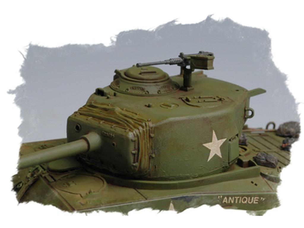 U.S M4A3E8 Tank (Vista 6)