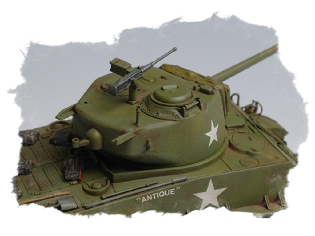 U.S M4A3E8 Tank (Vista 7)