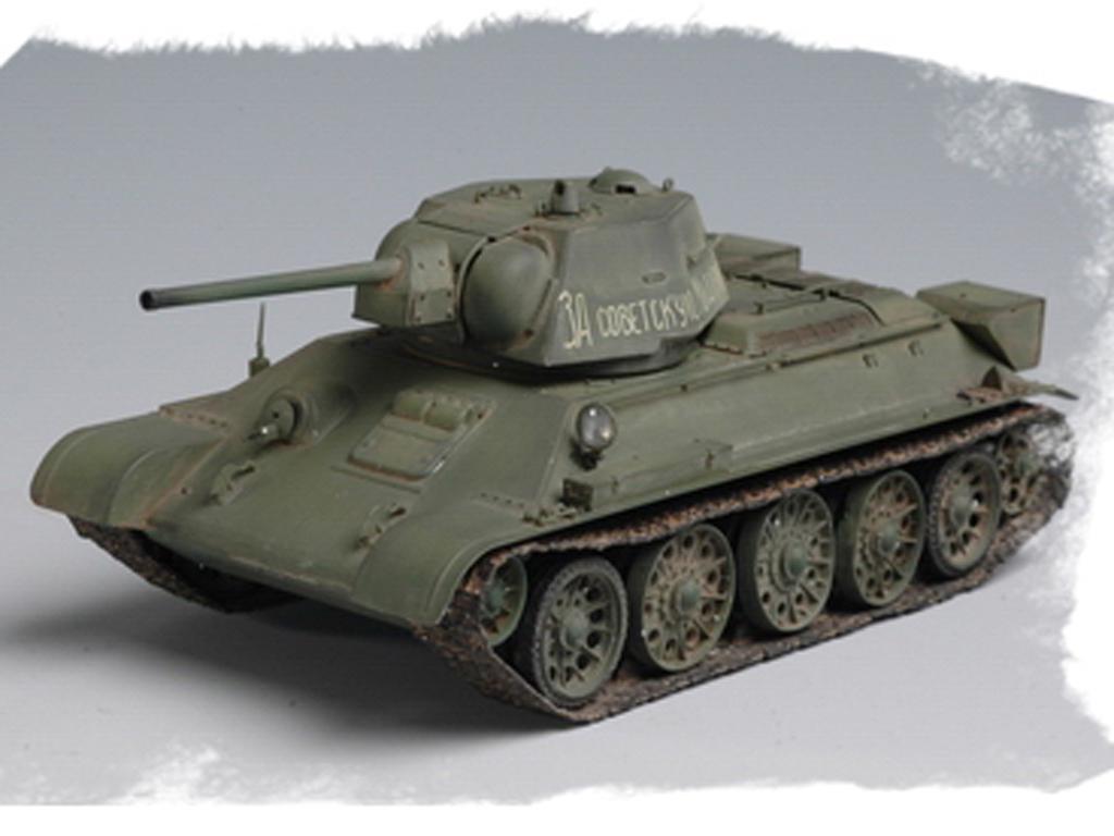 Russian T-34/76 Tank 1943 (Vista 3)