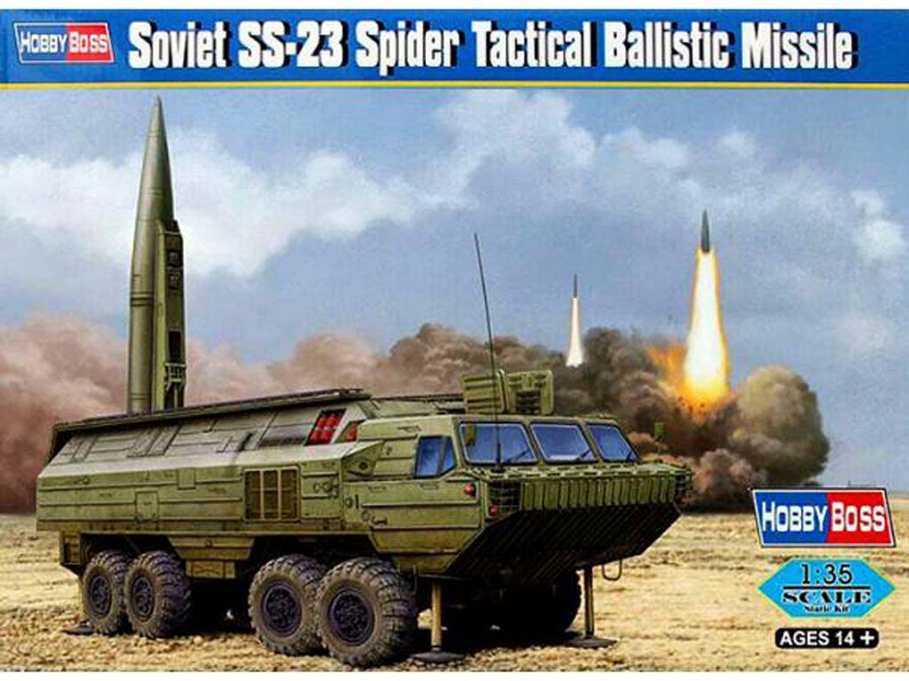 Misil táctico soviético SS-23 Spider (Vista 1)