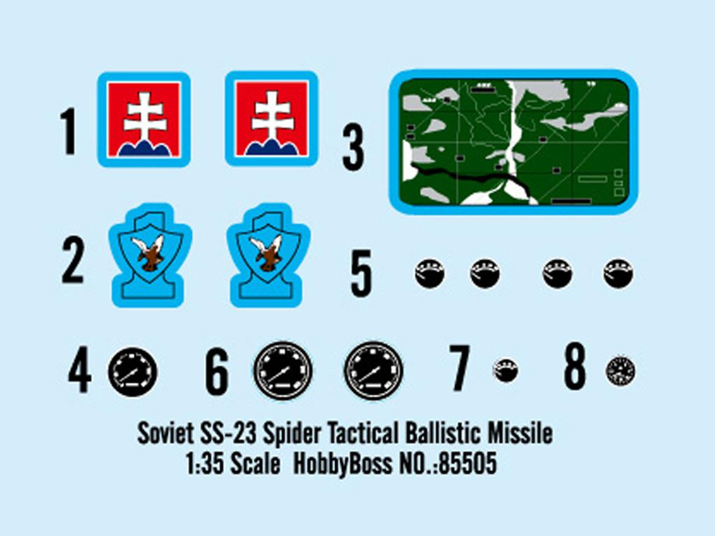 Misil táctico soviético SS-23 Spider (Vista 2)