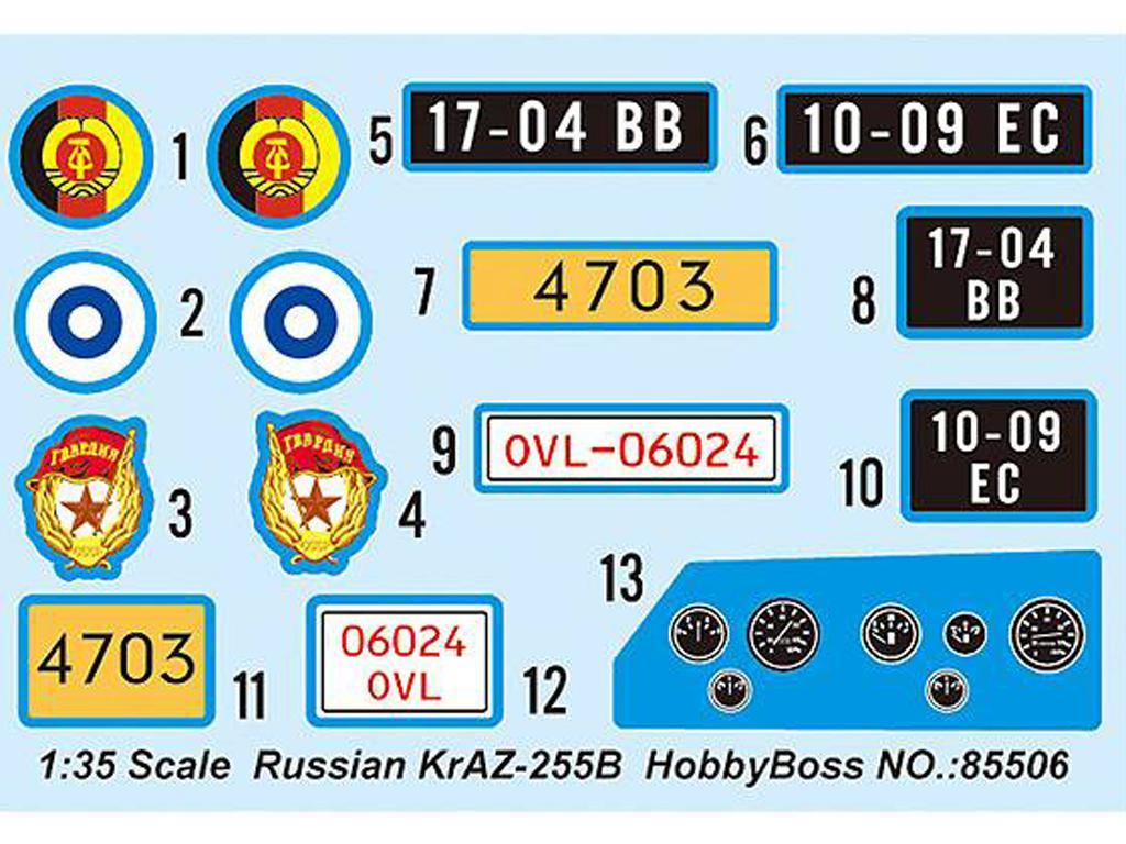 Camión de carga ruso KrAZ-255B (Vista 2)