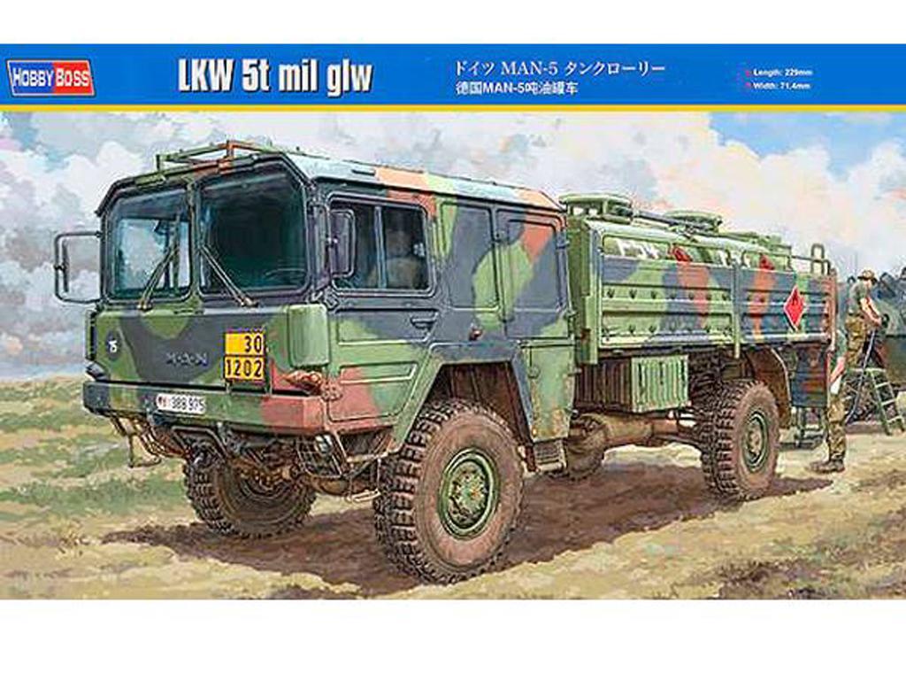 Camión cisterna MAN LKW 5t. mil glw (Vista 1)