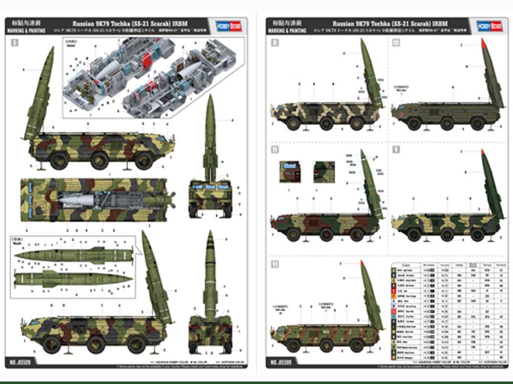 Russian 9K79 Tochka SS-21 Scarab (Vista 2)