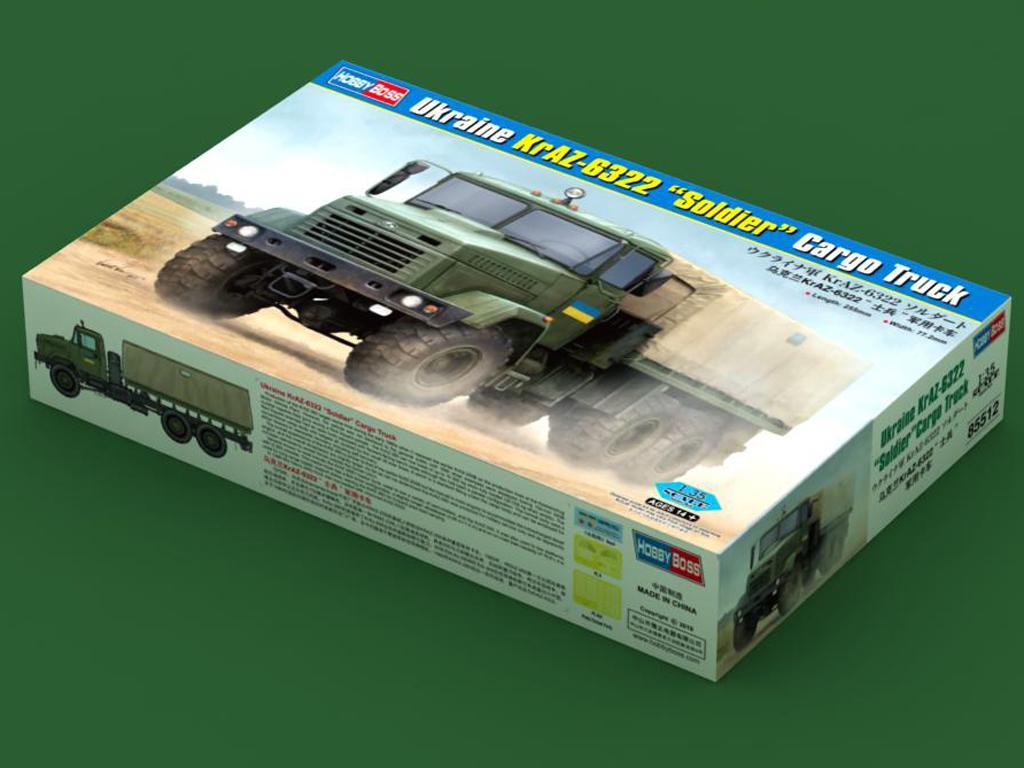 """Ukraine KrAZ-6322 """"Soldier"""" Cargo Truck (Vista 1)"""