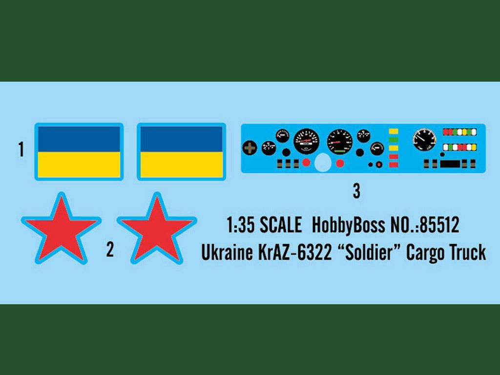 """Ukraine KrAZ-6322 """"Soldier"""" Cargo Truck (Vista 3)"""