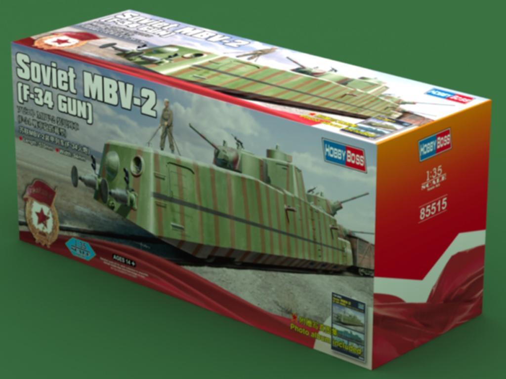 Soviet MBV-2 , F-34 Gun (Vista 1)