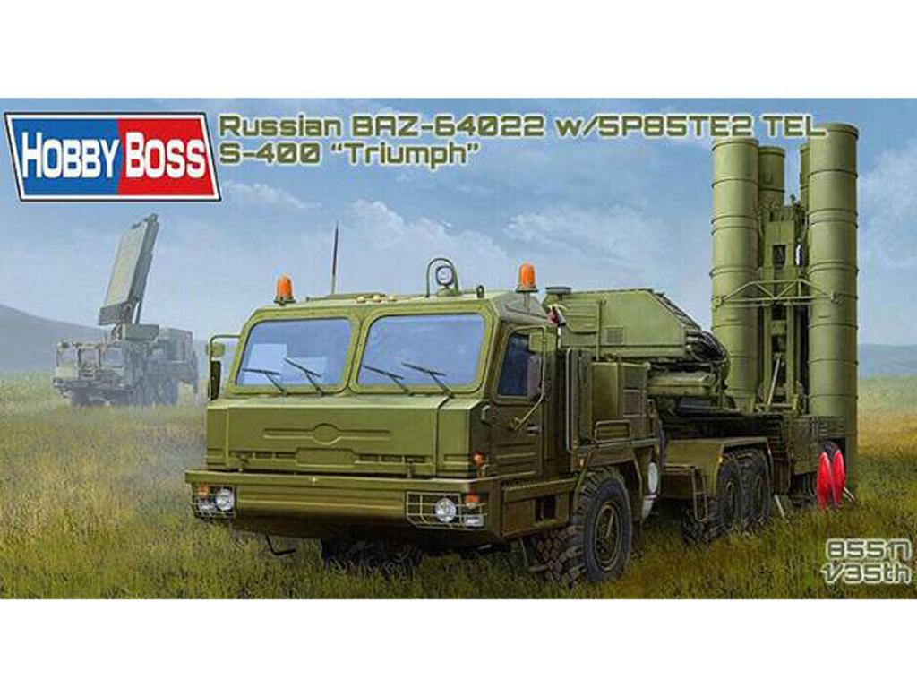 BAZ-64022 avec Missiles 5P85TE2 TEL. S-4 (Vista 1)