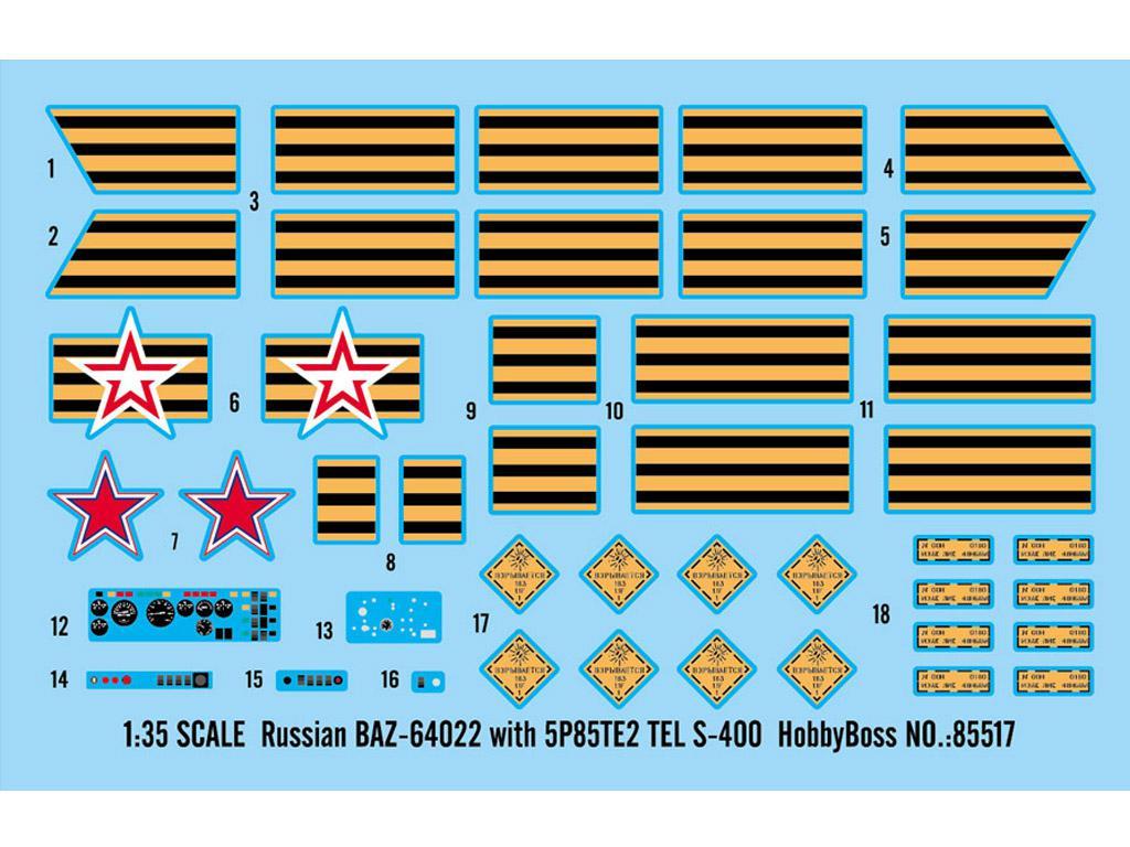 BAZ-64022 avec Missiles 5P85TE2 TEL. S-4 (Vista 3)
