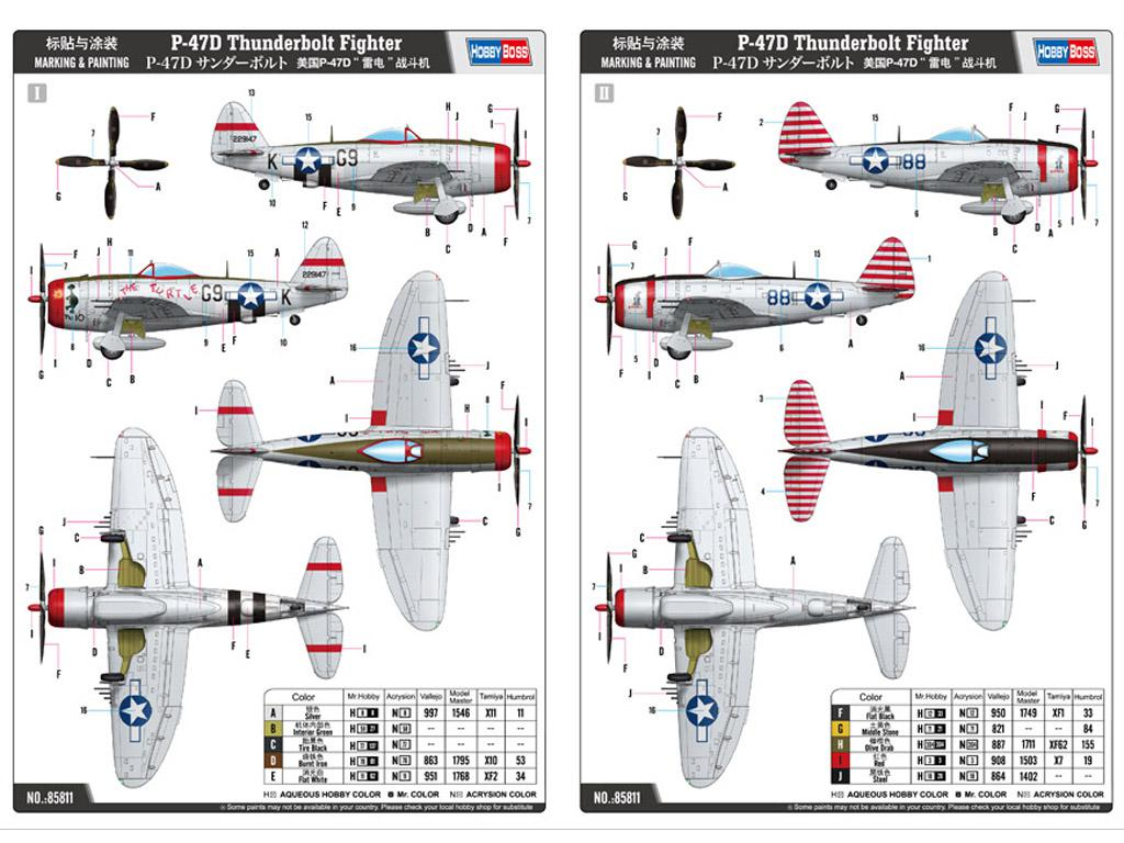 P-47D Thunderbolt Fighter (Vista 2)