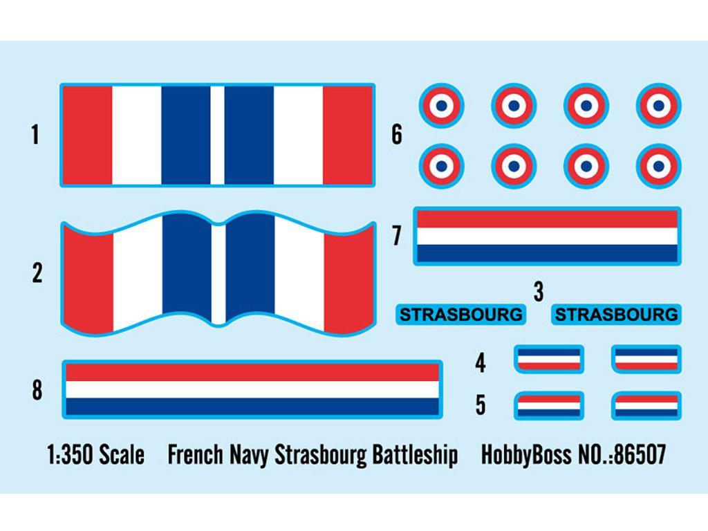 Acorazado Francés Strasbourg (Vista 3)