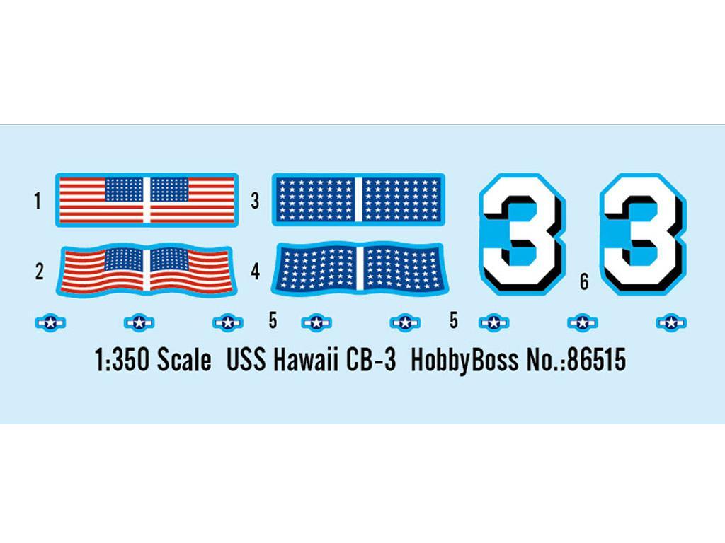 USS Hawai CB-3 - US Navy Heavy Cruiser 1 (Vista 2)
