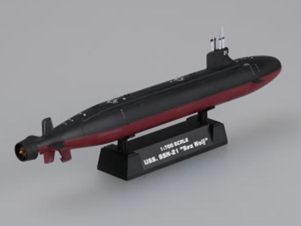 USS SSN-21 Seswolf Attack Submarine  (Vista 6)
