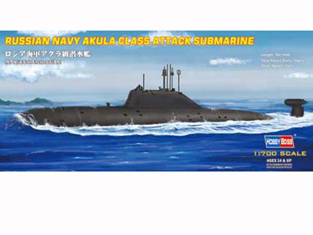 Russia Navy Akula Class Attack Submarine (Vista 1)