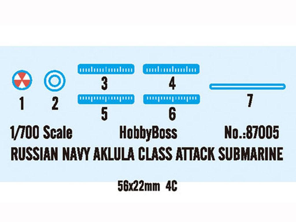 Russia Navy Akula Class Attack Submarine (Vista 3)
