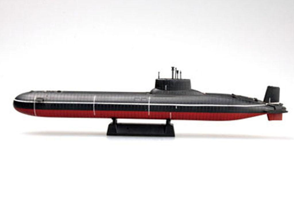 Russian Navy Typhoon Class Submarine  (Vista 5)