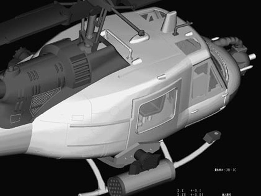 UH-1C Huey (Vista 2)