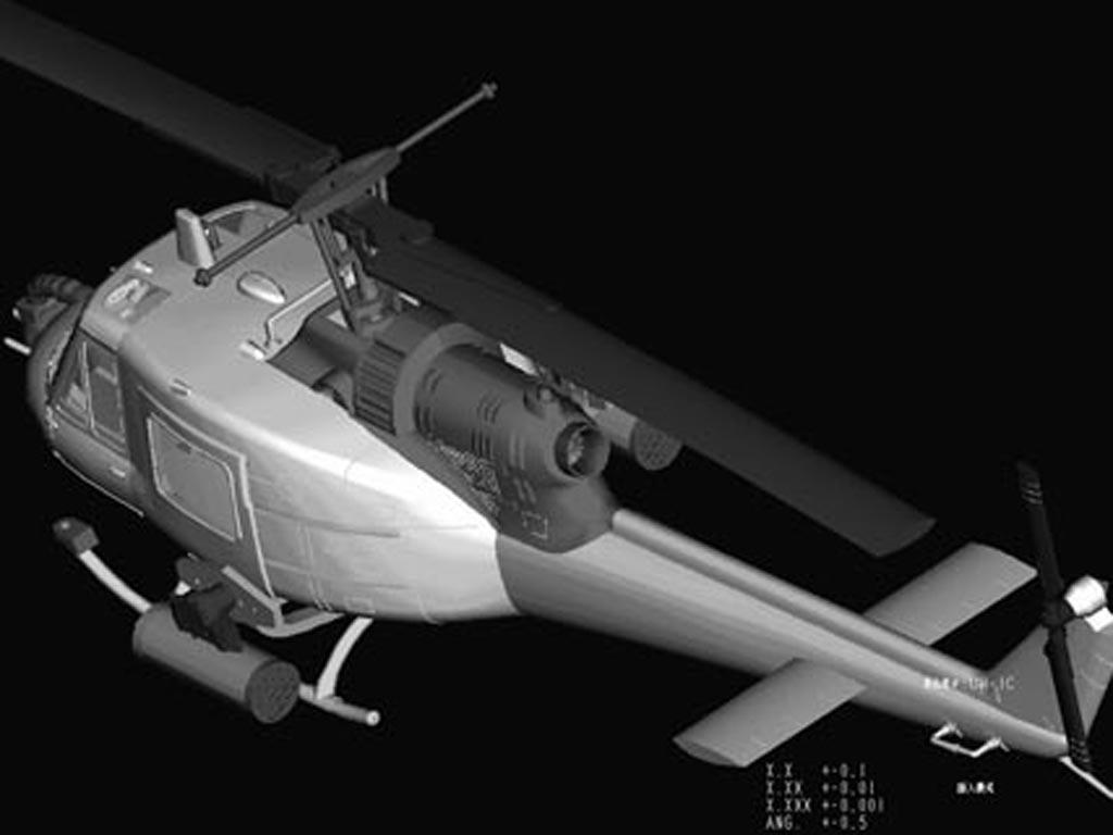 UH-1C Huey (Vista 5)