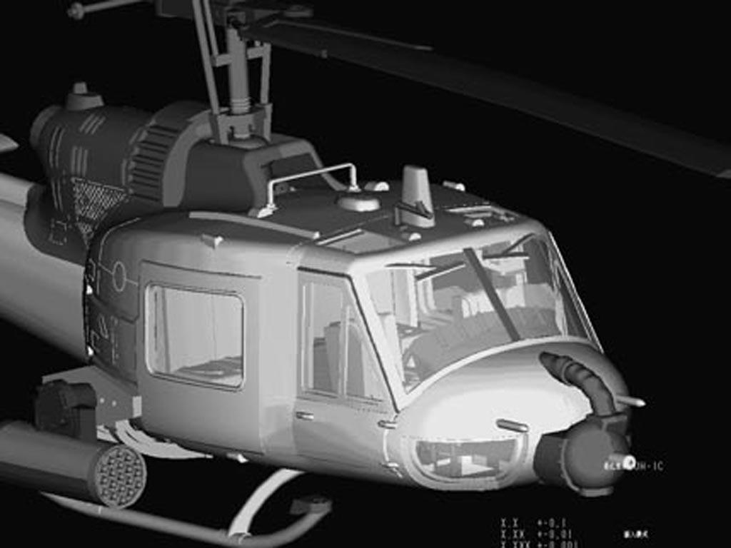 UH-1C Huey (Vista 6)