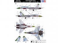 Su-27 Flanker inicial (Vista 8)