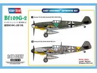 Messerschmitt Bf-109G (Vista 4)